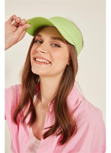 Y-London 13363 Tenisçi Şapkası Yeşil
